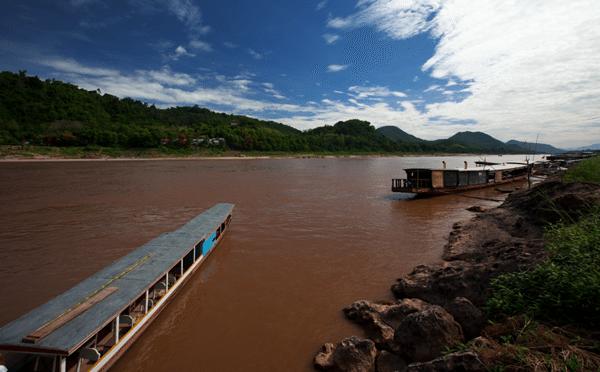 Mekong River Luang Prabang Laos Southeast Asia