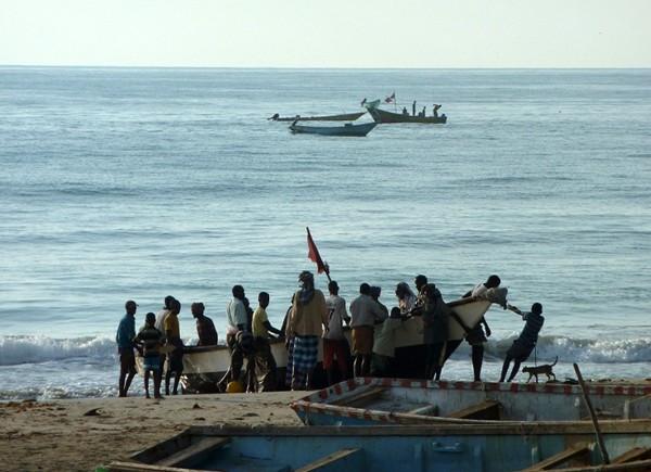 Somali fisherman somalia
