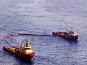 brazil oil spill clean up chevron
