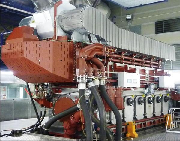 Caterpillar MaK CAT NYSE:CAT Dual Fuel Marine Engine