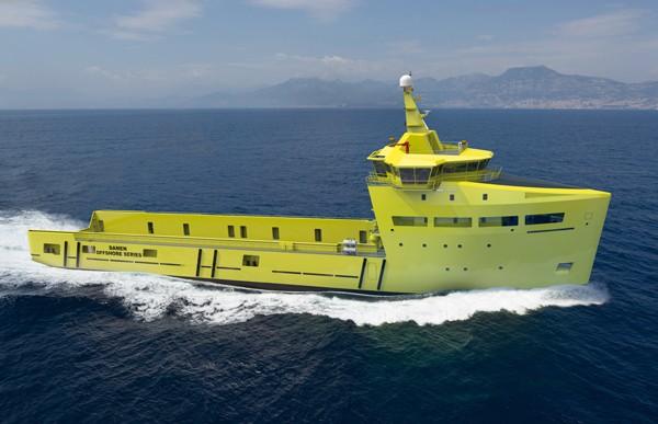 Damen PSV 3300 platform supply vessel