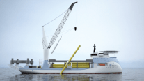 Ulstein Unveils New Offshore Wind Installation Vessel