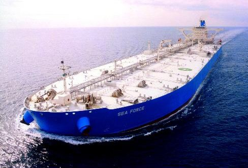 Frontline Sea Force VLCC crude oil tanker