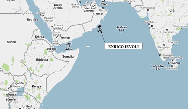 indian ocean hijacking