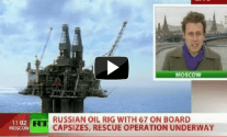 Russian Rig Sinks – 4 Confirmed Dead