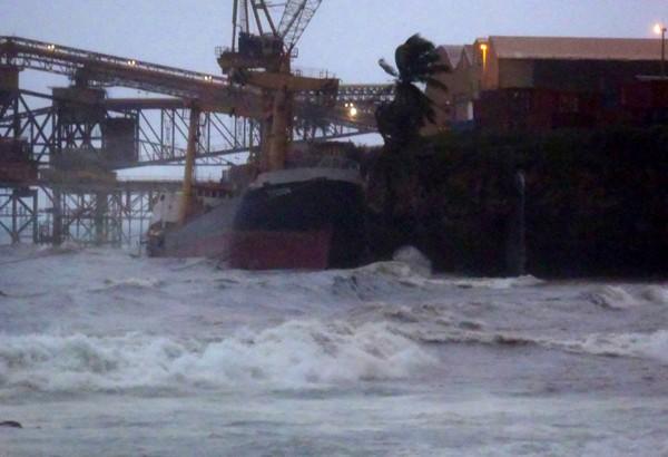 MV Tycoon australian maritime ship christmas island