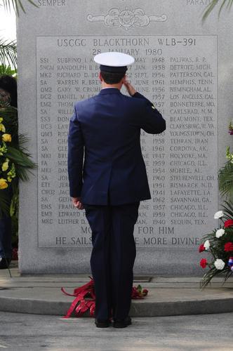 uscg salute memorial