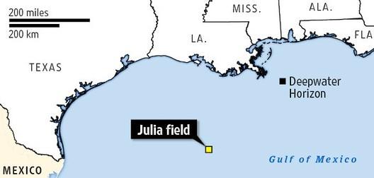 exxonmobil julia oil field statoil deepwater gulf of mexico
