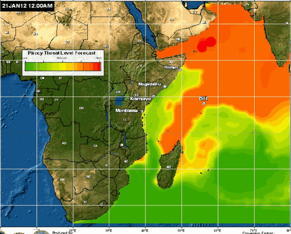 piracy forecast indian ocean