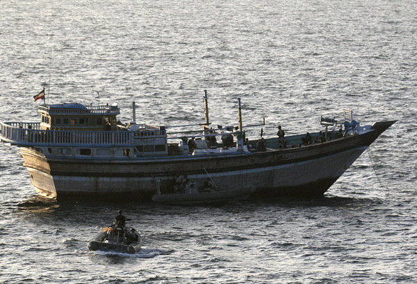 iranian dhow us navy rescue pirates piracy uss kidd