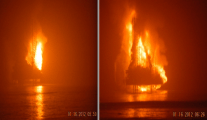 Nigeria Jack-Up Fire Update: Hercules Liftboat Caught in Fire, Two Still Missing from Chevron Rig