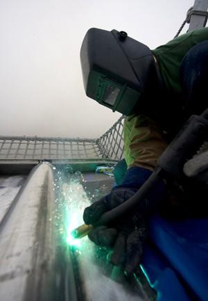 welding aluminum austal shipbuilding