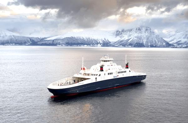 Boknafjord gas-powered ferry