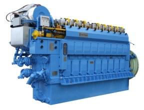C Gas marine engine rolls royce LNG