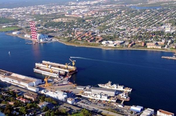 Canada's Irving Shipyard, file photo.