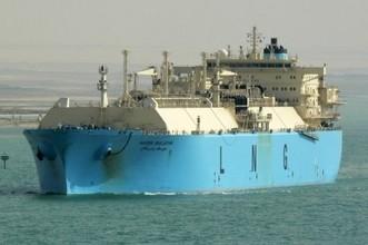 Maersk Ras Laffan LNG ship carrier