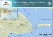 Search and Rescue off Papua New Guinea Continues, IMO Secretary General Extends Condolances