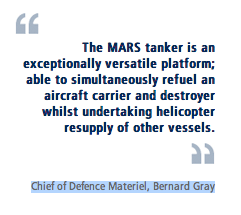 Chief of Defence Materiel Bernard Gray