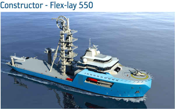 GustoMSC Constructor Flex-Lay 550