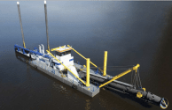 Cutter Suction Dredgers Delivered to Azerbaijan