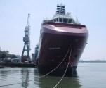 DOF Rederi Takes Delivery of the Skandi Hawk from Cochin Shipyard