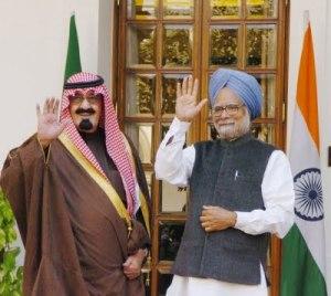 abdullah india saudi