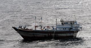 Iranian fishing dhow