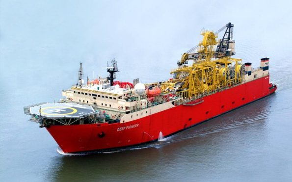Technip Deep Pioneer subsea installation vessel