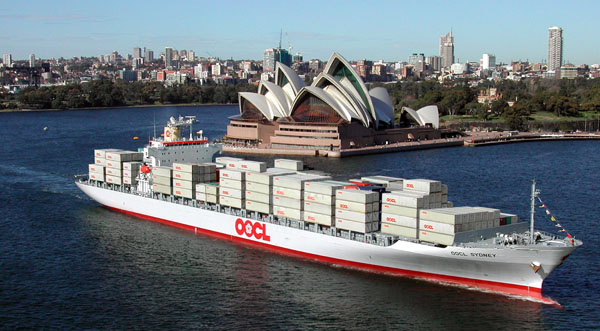 Orient Overseas Container lines sydney