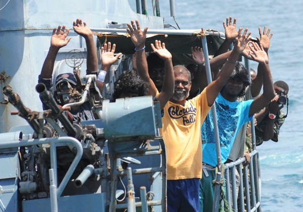 despedida pescadores rescued fisherman eunavform