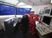 Dave Minton toolpusher Q4000 drill shack