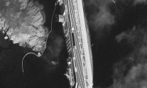 Costa Concordia as it appeared from space on Jan. 17, 2012. Photo By DigitalGlobe