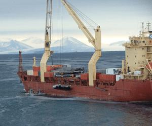 mcmurdo-ice--ship-pier antarctica