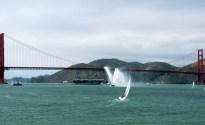 Ship Photos of The Day – Navy Ships and The Golden Gate Bridge at 75