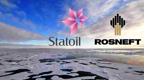statoil rosneft russian arctic