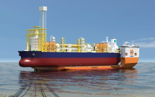 dockwise vanguard fpso drydocking