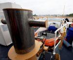 stern RHIB launch USCGC Bernard C. Webber
