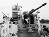 USCGC Bernard C. Webber armament 25mm chaingun