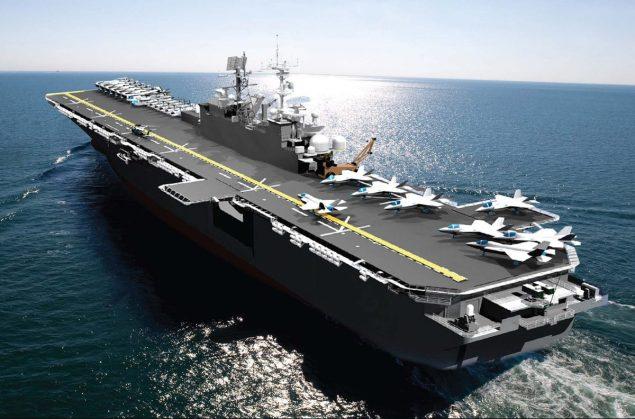 USS Tripoli huntington ingalls