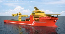 Eidesvik Offshore Commissions Kleven Maritime to Build US$180 Million Subsea Construction Vessel