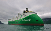 Ulstein Verft Delivers the Polarcus Adira, an Ice-Ready Seismic Survey Ship