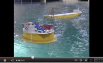 Cylindrical FPSO vs. Ship-Shaped, in a 100 Year Storm [VIDEO]