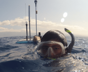 Brian Lam Diving With WaveGlider