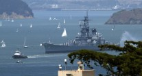 Ship Photos of The Day – USS Iowa Makes Her Final Journey