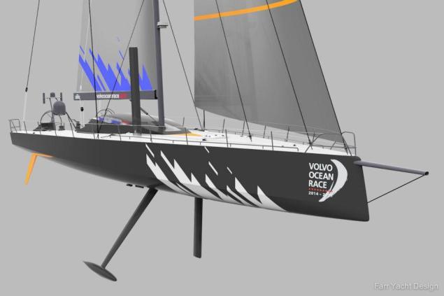 VOR 65 farr yacht design