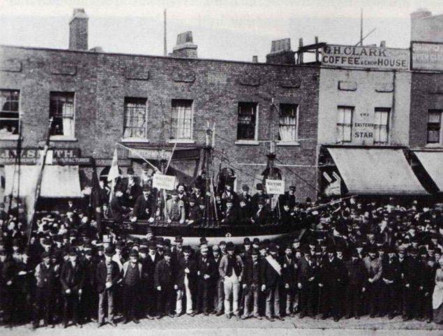 dock workers strike