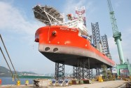 World's Largest Windfarm Installation Vessel Delivered by Samsung Heavy