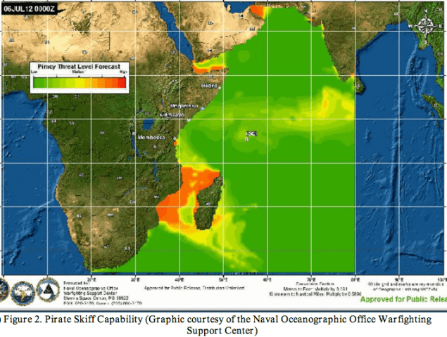 piracy weather indian ocean sea state