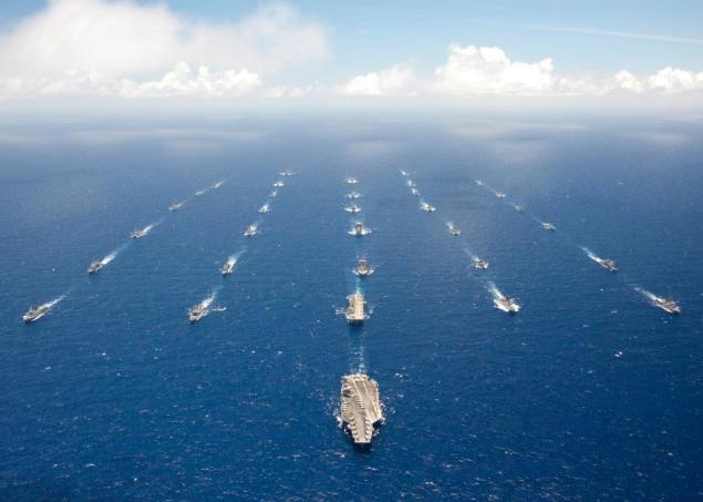 rimpac formation battlegroup ships navy naval navies