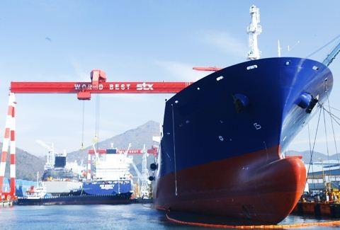 stx dalian supramax panamax bulk carrier shipbuilding